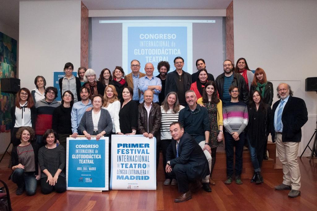 II Congreso de Glotodidáctica Teatral en España
