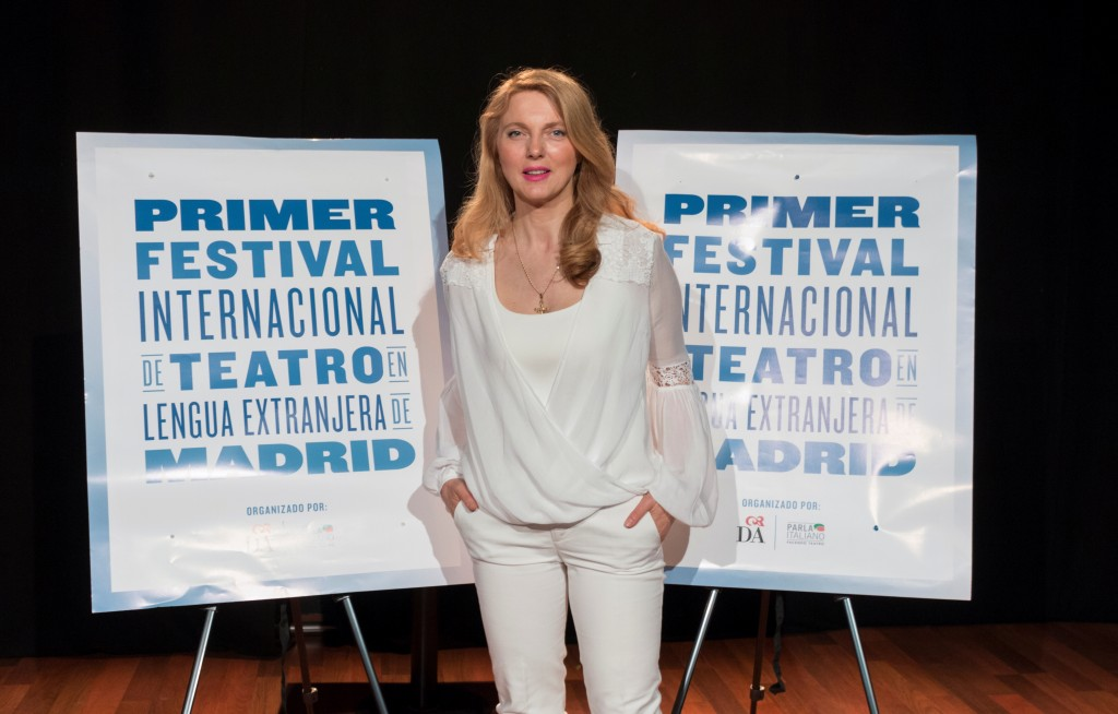 Donatella Danzi_Ideatrice e fondatrice del Festival de Teatro en Lengua extranjera de Madrid