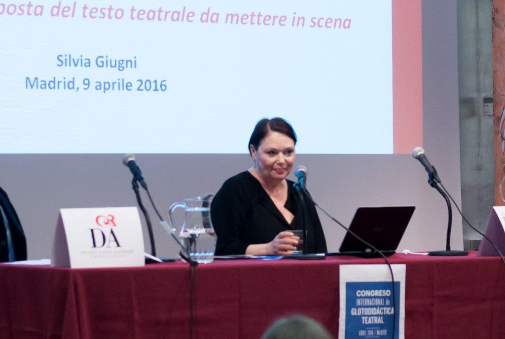 Convegno Internazionale di Glotodidattica Teatrale in Spagna_Profssa Silvia Giugni