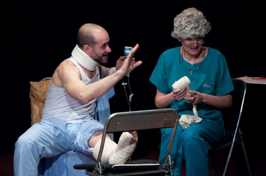 Giacobbe di Paolo Puppa al Festival Internazionale di Teatro in Lingua Straniera di Madrid Regia di Donatella Danzi