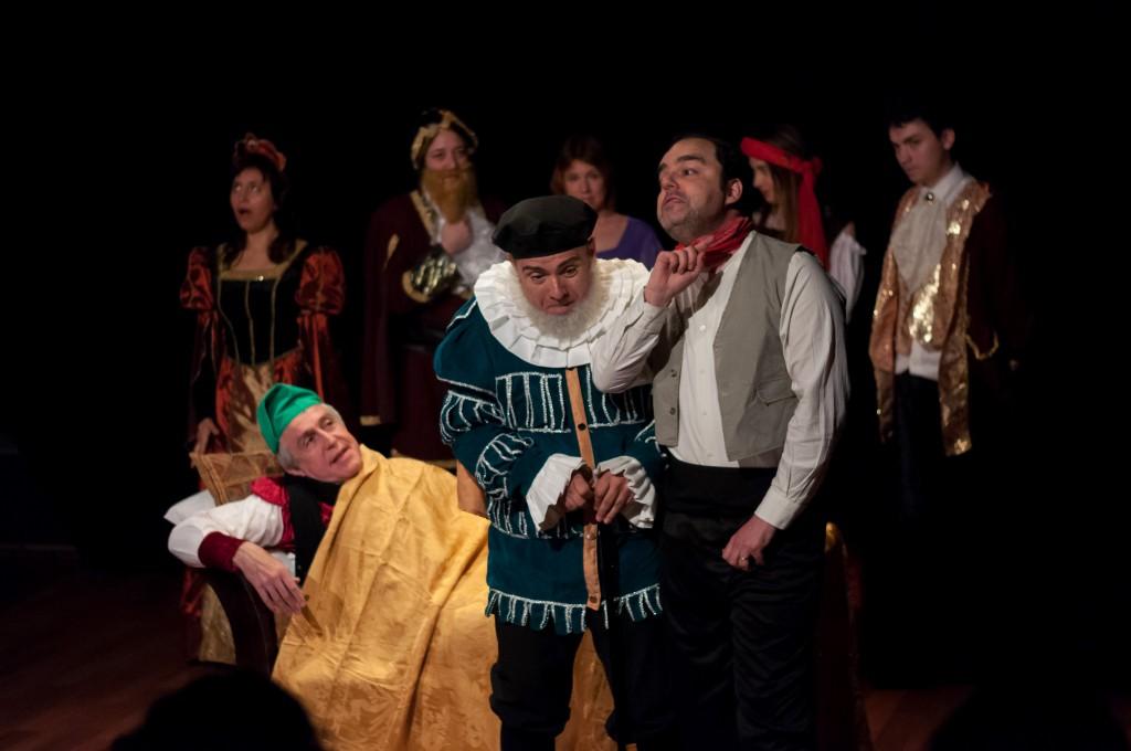 IFestival Internacional de Teatro en Lengua Extranjera de Madrid_alumnos profesores Ana Gimeno y David Perry