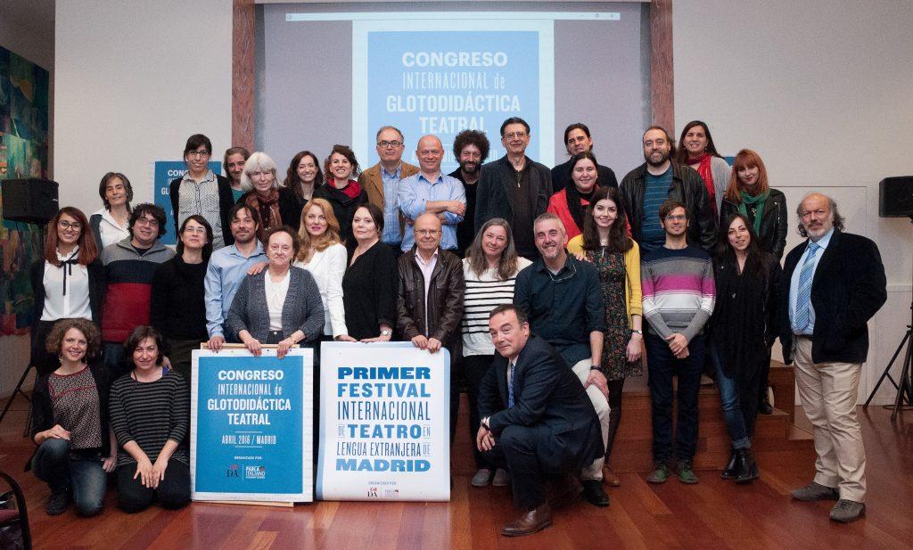 II Convegno di GlottodidatticaTeatrale in Spagna_ II Congreso de Glotodidáctica Teatral en España_1