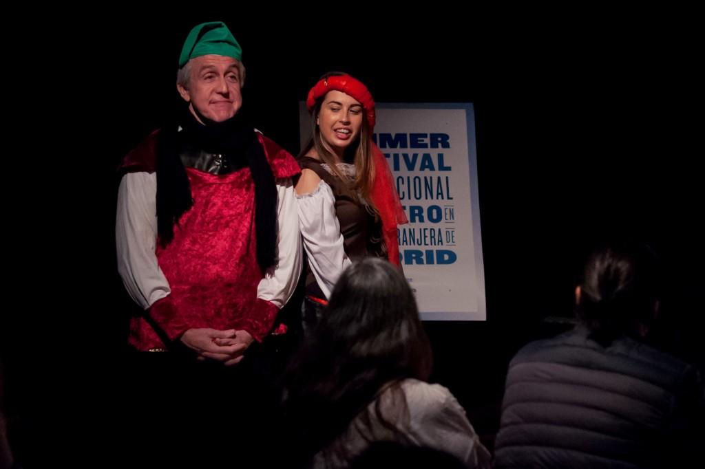 Los alumnos de Ana Gimeno Sanz y David Perry Festival de Teatro en Lengua Extranjera de Madrid 2016