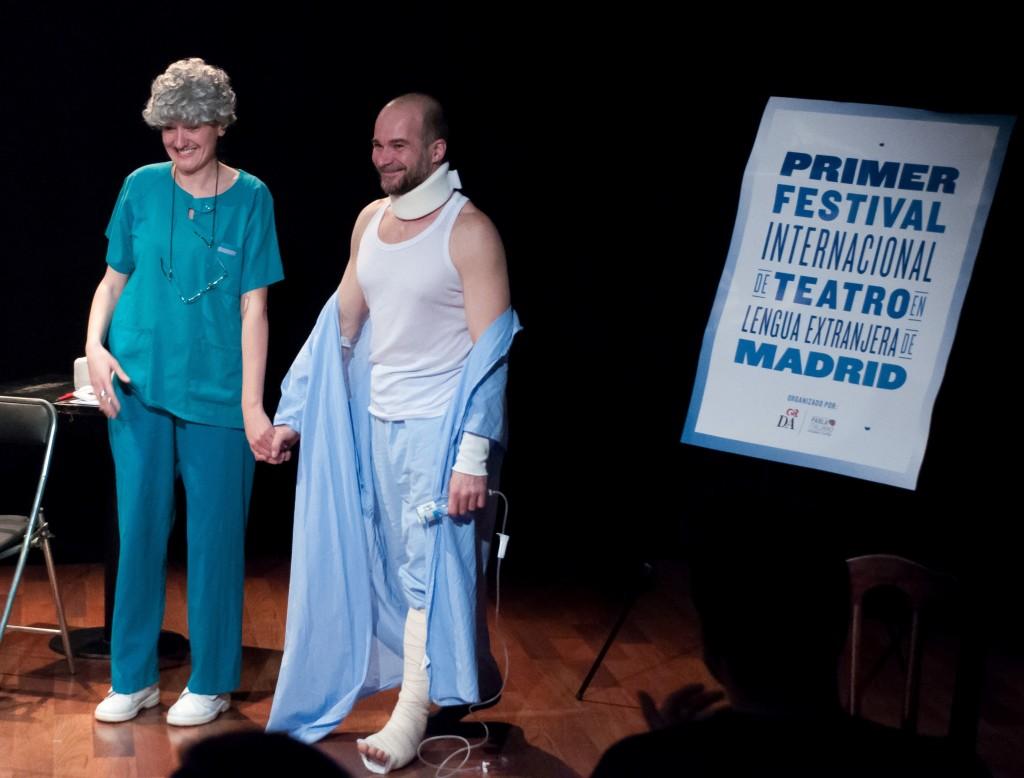 Parla Italiano Facendo Teatro Debutto a Madrid di Giacobbe di Paolo Puppa Festival Internazionale di Teatro in Lingua Straniera di Madrid_Regia Donatella Danzi