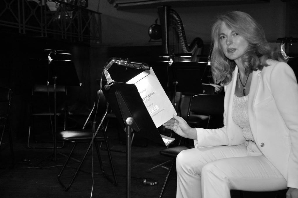 Donatella Danzi collabora con l'IOS per la preparazione della Boème_Gijón 2015