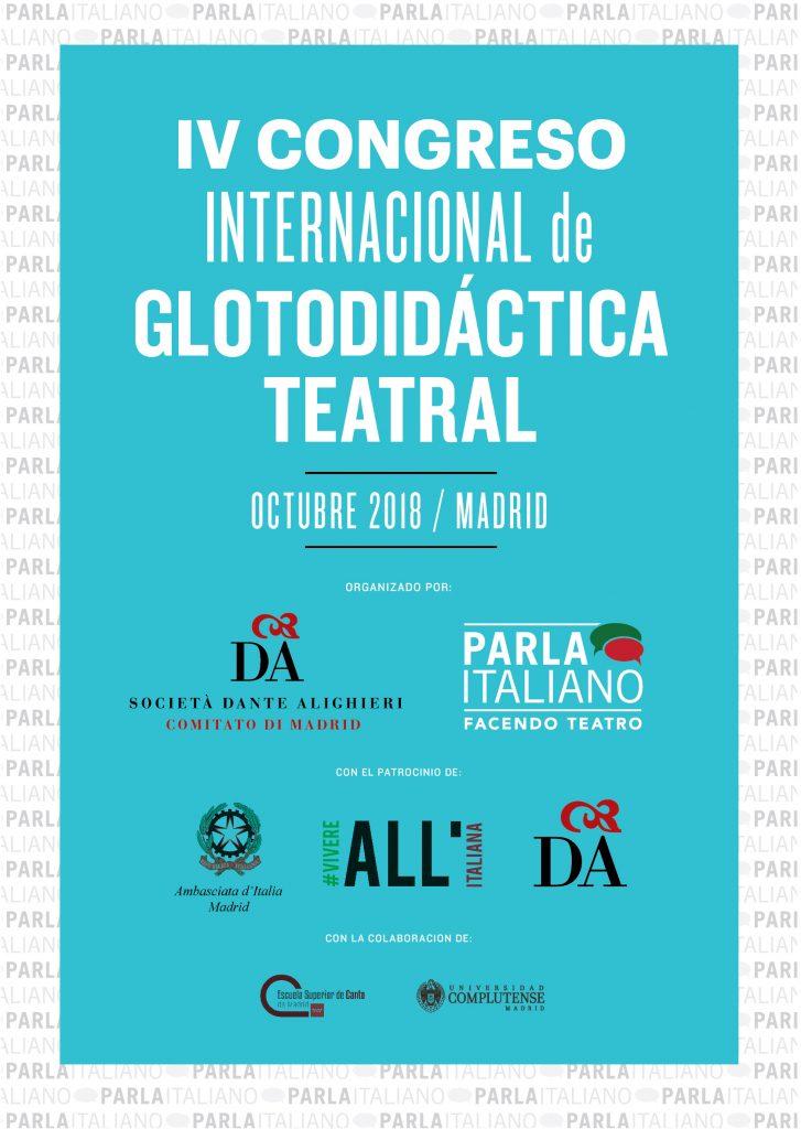 THEATRICAL GLOTTODIDACTICS, GLOTTODIDATTICA TEATRALE, GLOTODIDÁCTICA TEATRAL