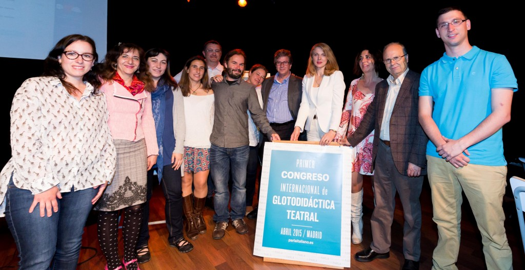 PRIMO CONVEGNO INTERNAZIONALE DI GLOTTODIDATCA TEATRALE IN SPAGNA