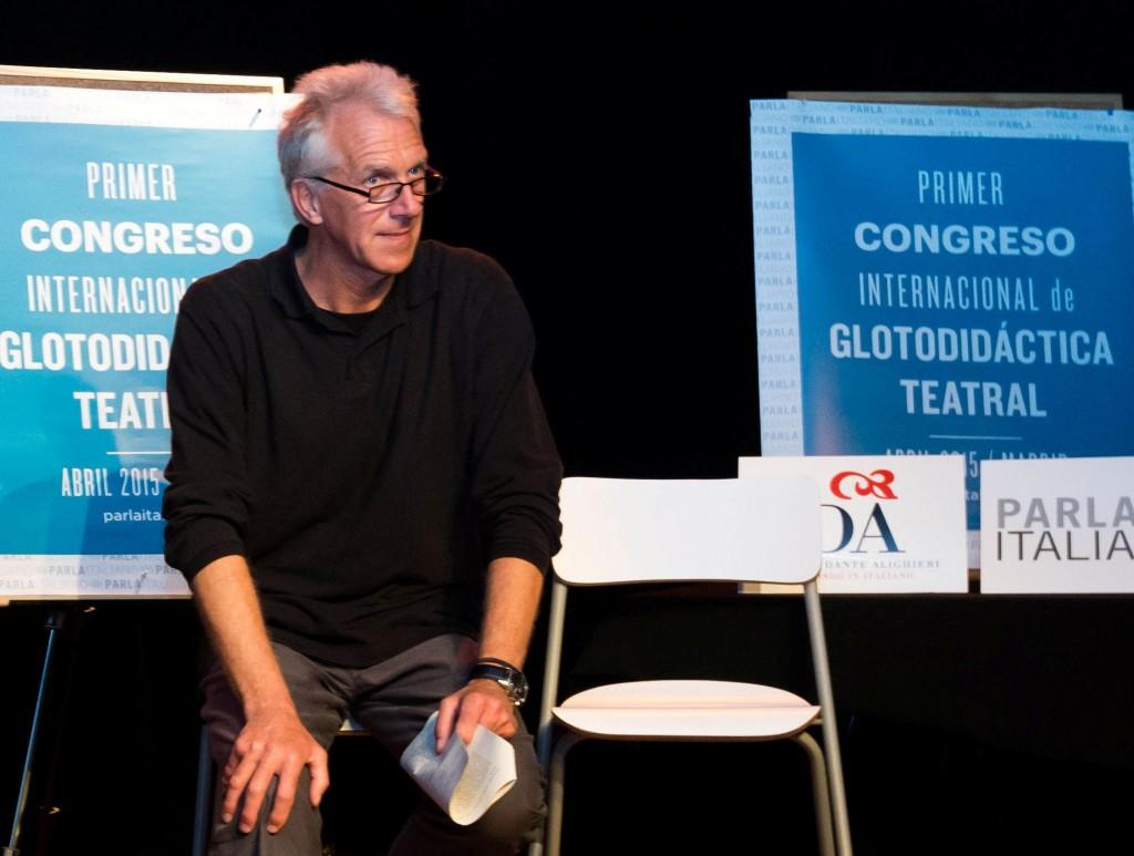 Primer Congreso Internacional de Glotodidáctica Teatral en España_David Perry