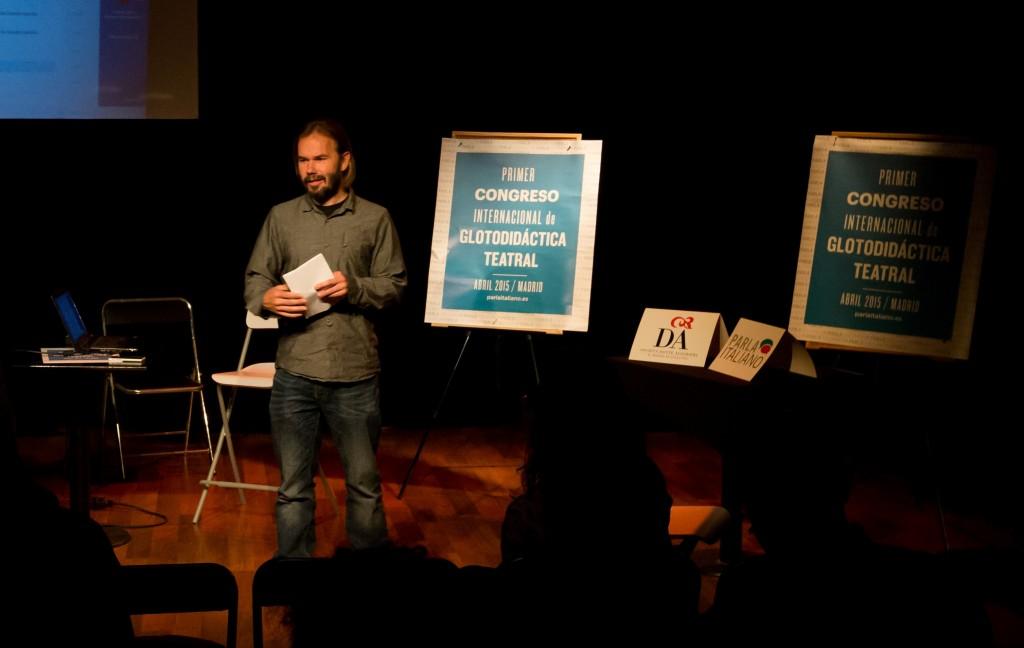 Primer Congreso de Glotodidáctica Teatral en España_