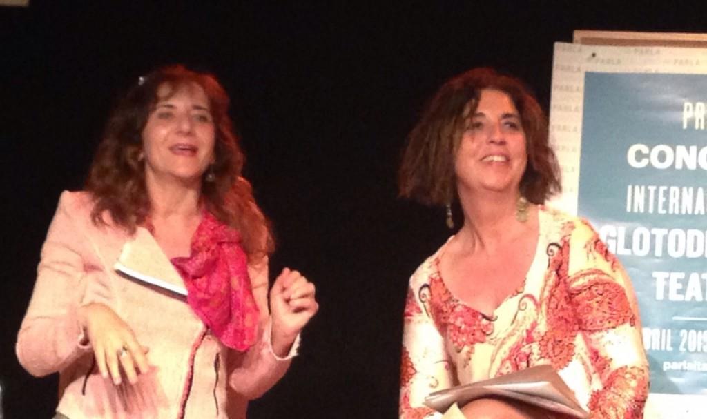 Primer Congreso de Glotodidáctica Teatral en España_Paola Sgroia_Mila Ortiz