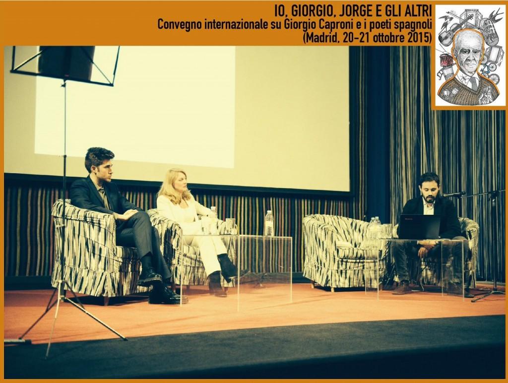 Convegno su Giorgio Caproni 2015 Madrid